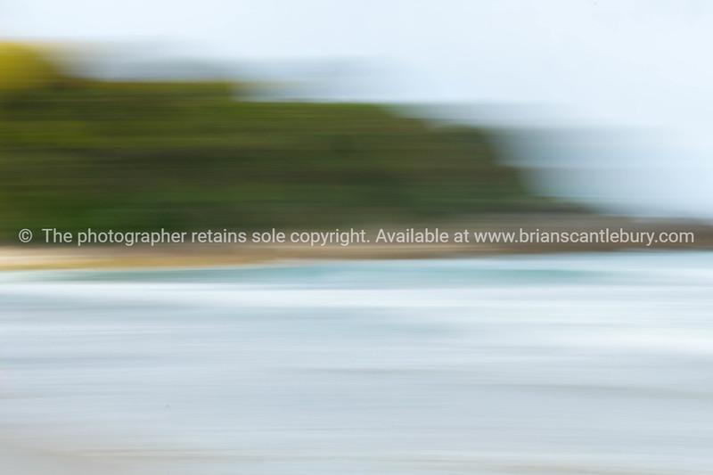 Beach motion blur background Mount Maunganui