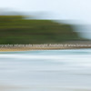 Beach motion blur background Mount Maunganui