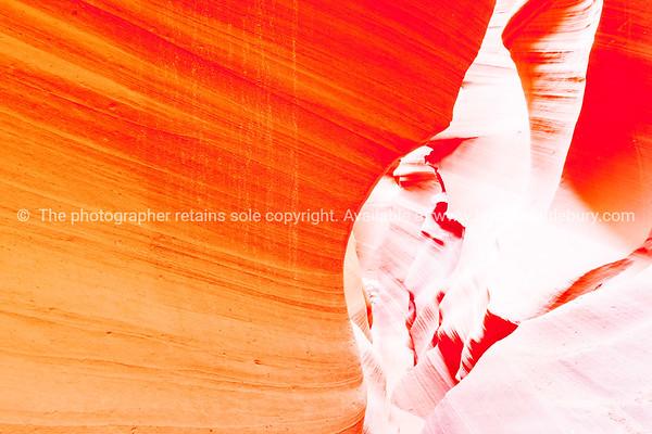 Lower Antelope Canyon textures Page Arizona USA