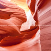 Lower Antelope Canyon textures Page Arizona USA