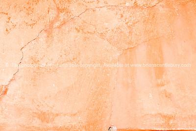 Cracks in plaster wall