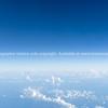 Blue sky above clouds