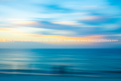 Abstract background horizontal seaside blur