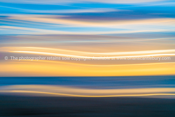 Coastal abstract Waitarere Beach Levin New Zealand