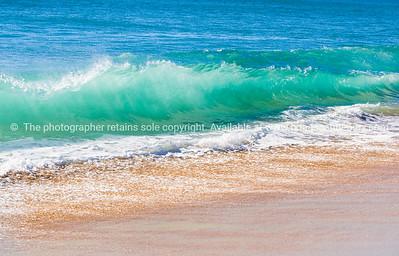 Waves close-up