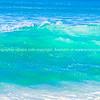 Tairua Ocean Beach. Coromandel Peninsula, crashing turquoise waves.