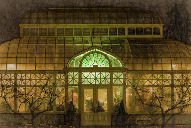 Impression of the Conservatory in the Evening