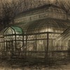 Drawing of the Conservatory at Night
