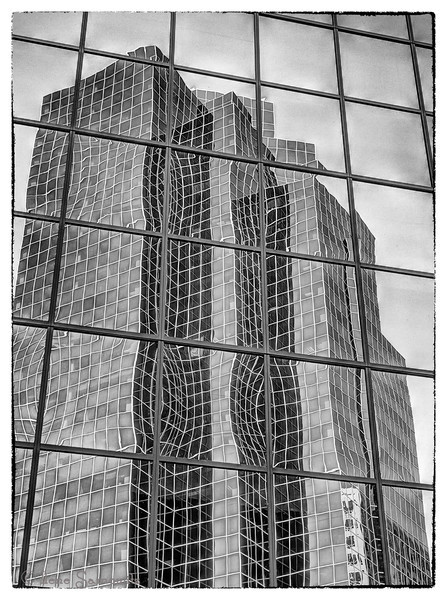 6-3-13 Here s another Bellevue building reflection that I shot today at lunch.  I used my Lumix gh-2 which I hadn't shot with for a while.  I am having a problem with the eye sensor on my Nikon V1 so I am giving it some time off and will go back and decide next steps on it most likely next week.<br /> <br /> Thanks for all the comments and support on this series.