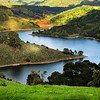 Lake Chabot, East Bay Regional Park, California<br /> <br /> SEE UNALTERED PHOTO IN MOUNTAINS WATER FORESTS GALLERY