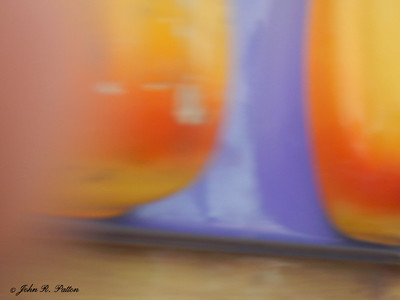 Motion blurred colors