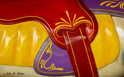Carousel saddle detail