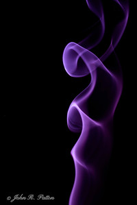Abstract, smoke.