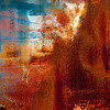 Abstract, rust on metal