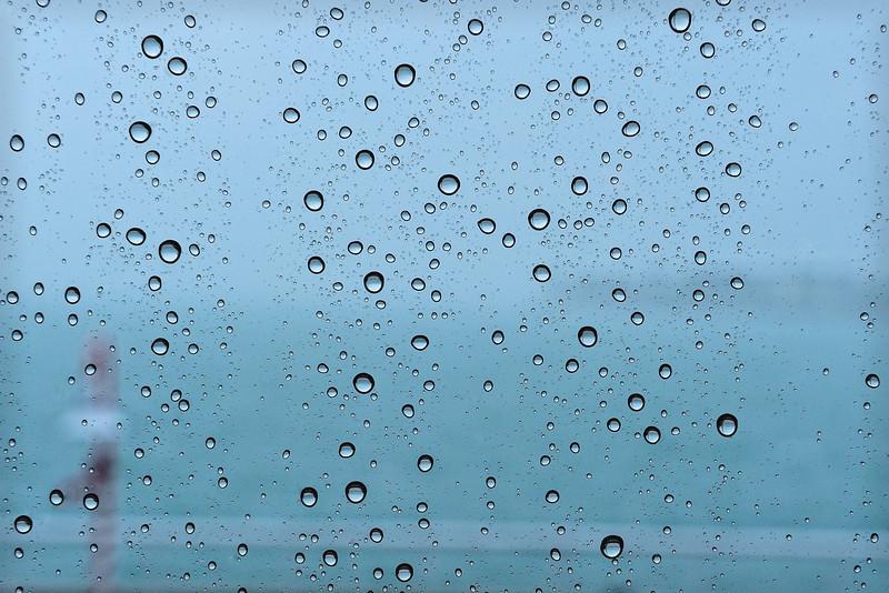 Rainy Window in Key West