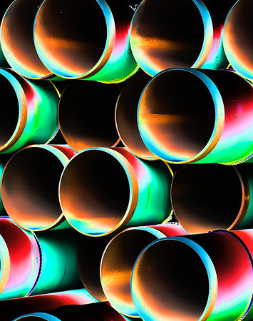 Metal Pipe Abstract #5