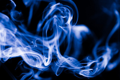 Smoke Close Up