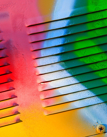 Colors on vent