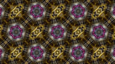 Kaleidoscopic Design of Watch Jewels