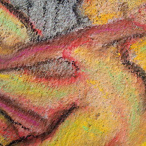 Sidewalk Chalk Detail
