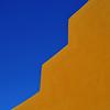 Adobe Wall and Sky, Santa Fe, New Mexico