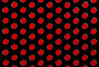 Red On Black Polka Dots