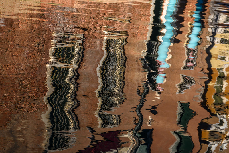 Canal Reflections, Venice, Italy