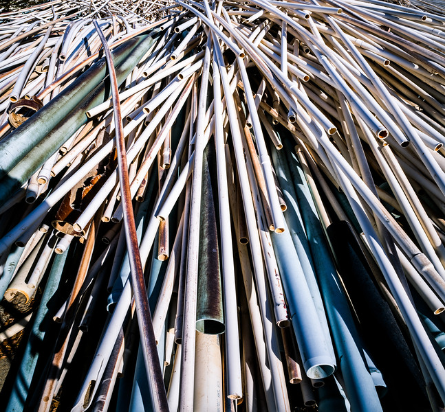 Pipes, Kelso, California, 1995