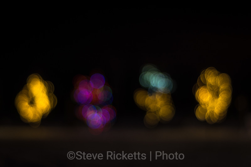 Impressionistic Christmas lights