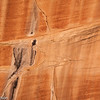 Patterns in sandstone in Devil's Kitchen, Canyonlands National Park, Utah.