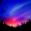 Clarke Lake Surreal Twilight