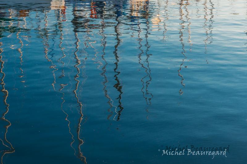 Griffures d'eau