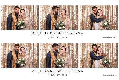 Abu Bakr & Corissa - 07-15-2018