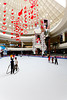 The Ice Skating Rink at the Al Ain Mall in Al Ain, UAE, Persian Gulf.