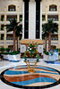 Interior lobby of The Al Ain Rotana Resort in Al Ain, Abu Dhabi Emirate, UAE.
