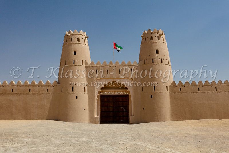 The Al Jahili Fort in Al Ain, United Arab Emirates, Middle East.