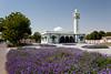 A small mosque in downtown Al Ain, UAE, Persian Gulf.