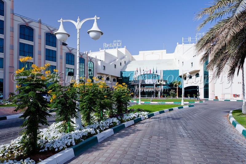 The Al Ain Rotana Resort in Abu Dhabi Emirate, UAE.