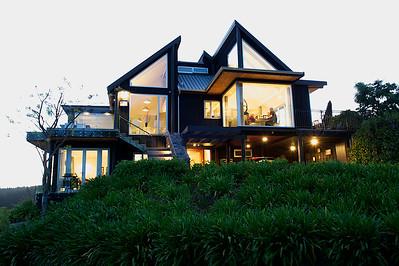 Acacia Cliffs Lodge - Lake Taupo - Evening View