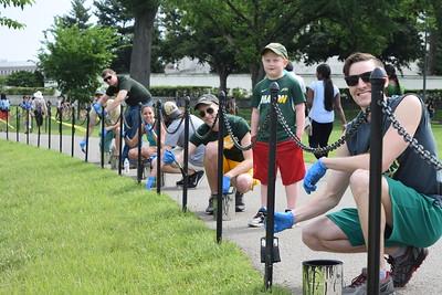 CHSS Memorial Cleanup - June 3, 2017
