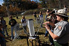 Smithsonian-Mason School of Conservation students tour Belle Meade farm.  Photo by Evan Cantwell/Creative Services/George Mason University