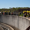 Mason civil engineering students tour of a wastewater treatment plant. Photo by Craig Bisacre/Creatives Services/George Mason University