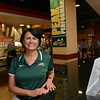 Theresa Logan, Mason athletics dietician, posing in Southside.  Photo by Evan Cantwell/Creative Services/George Mason University