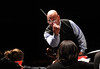 Dennis M. Layendecker conducting George Mason University  Symphony Orchestra. Photo by Evan Cantwell/Creative Services/George Mason University