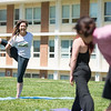 The Center for the Advancement of Well-Being yoga workshop