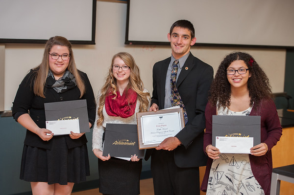 2014 Honors Speech Competition