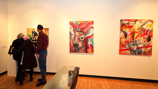 Faculty Art Show (02-10-12)