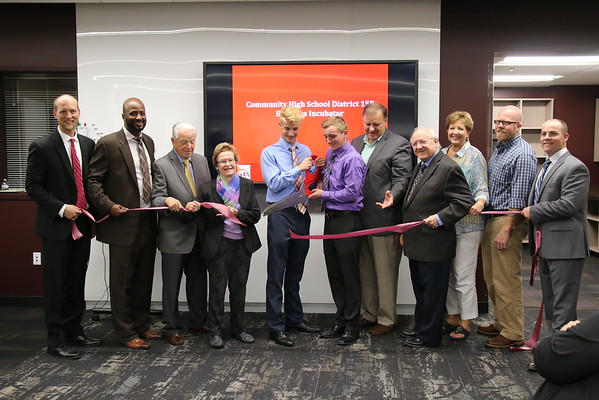 Business Incubator Open House & Ribbon Cutting Ceremony