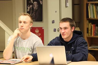 2015-16 Co-Ed Ethics class