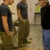 Students working in art studios. <br /> Professor: David Carbone<br /> Photographer: P. Scott Barrow